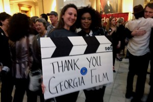Film industry attendees at Georgia Film day said thanks for the state's support. Photo: Jon Richards