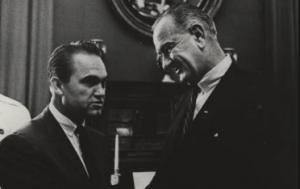 George Wallace & Lyndon Johnson, 1965